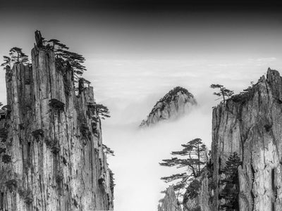 Huangshan by Chenzhe Canvas Print - UH