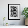 Lonely Man by Christian Müller Framed Print - USTAD HOME