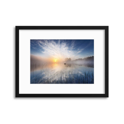 Reflection by Martin Lutz Framed Print - UH
