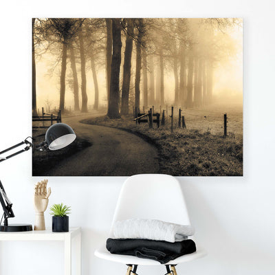 Road to Nowhere... by Petra Oldeman Canvas Print - USTAD HOME