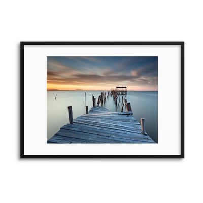Collapsed by Rui David Framed Print - UH