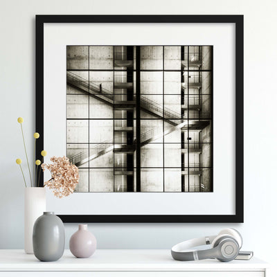 Berlin by Mario Benz Framed Print - UH