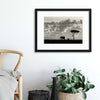 Silhouettes of Mara by Mario Moreno Framed Print - UH