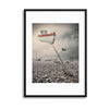 Low Tide by Baden Bowen Framed Print - UH