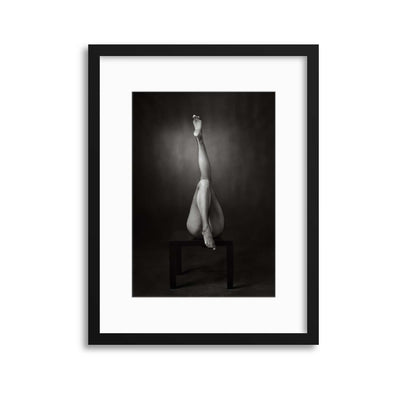 One Up, One Down by Ross Oscar Framed Print - UH