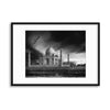 The Banks of the Jamuna River by Piet Flour Framed Print - UH