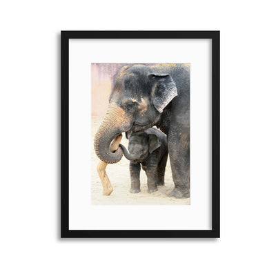 TWO by Antje Wenner-Braun Framed Print - UH