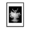 Powder Burst by Pauline Pentony Framed Print - UH