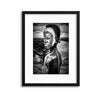 A Boy of the Karo Tribe, Omo Valley Ethiopia by Joxe Inazio Kuesta Framed Print - UH