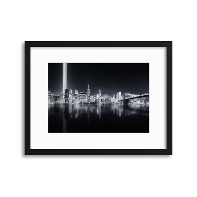 Unforgettable by Javier Framed Print - USTAD HOME