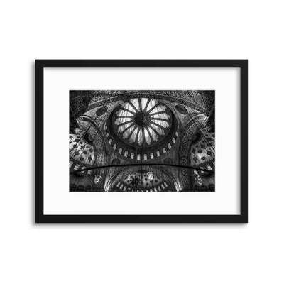 Istanbul - Blue Mosque by Michael Jurek Framed Print - UH