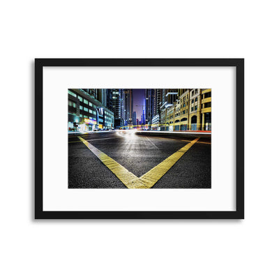 V by Robert Work Framed Print - UH