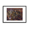 Night Life by Milton Mpounas Framed Print - USTAD HOME