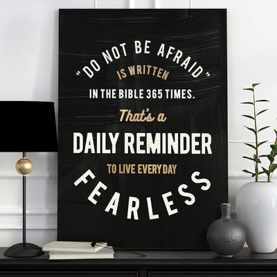 "Inspiring ""Daily Reminder"" Canvas - UH"