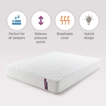 Pocket Spring Memory Foam Hybrid Mattress - UH