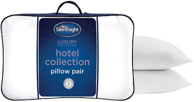 White Microfibre Pillow Pack of 2/4 - UH