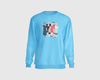 Personalised Faceless Illustration Photo Design Front Print Unisex Sweatshirt - UH