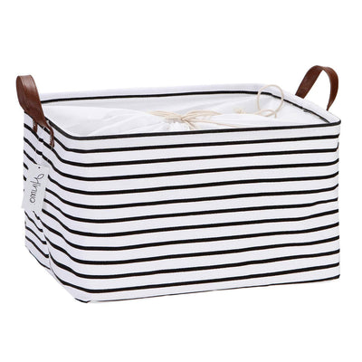 Large Capacity Storage Basket Canvas Fabric Storage 31L/70L - UH
