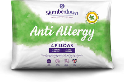 Anti Allergy White Pillows 2/4/6 Pack - UH