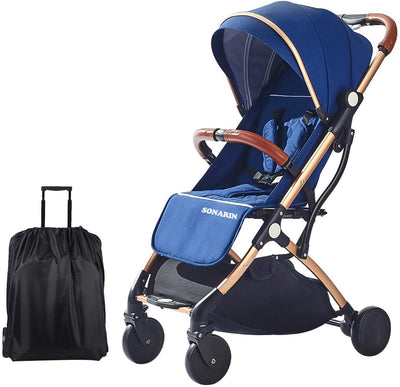 Foldable Lightweight Stroller Compact Travel Buggy - UH