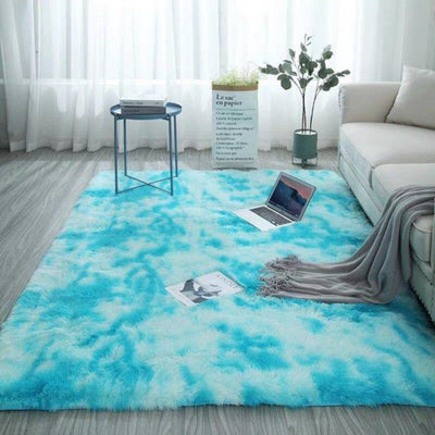Fluffy Luxury Square Soft Home Bedroom Carpet - UH