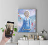 Personalised Elsa Canvas Print - UH