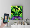 Personalised Hulk Canvas Print - UH