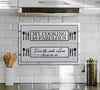 "Premium ""FABULOUS KITCHEN"" Canvas - UH"