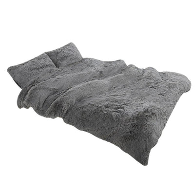 Fluffy Warm Soft Blanket with Pillow Cover - UH