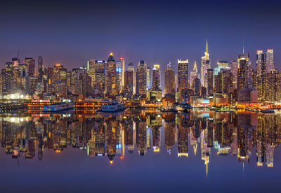 New York Reflections Wallpaper - UH