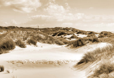 Dune Paradise in Sepia Wallpaper - UH