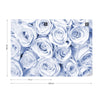 Rose Bouquet Blue Wallpaper - UH