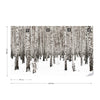 Birch Noir Wallpaper - USTAD HOME