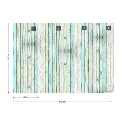 Harbour Planks Wallpaper - UH