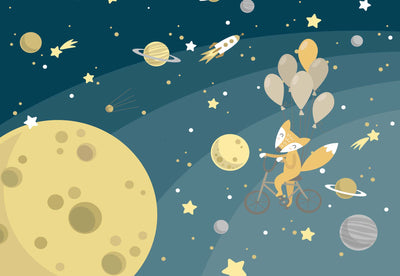Mr Fox's Space Walk Wallpaper - UH