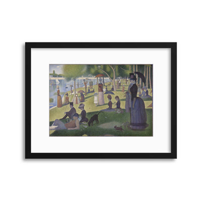 "Georges Seurat, ""A Sunday Afternoon on the Island of La Grande Jatte"" Framed Print - UH"