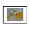 "Vincent van Gogh, ""Bedroom in Arles"" Framed Print - USTAD HOME"