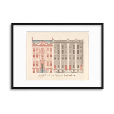 Classical Architecture, Illustrated - II Framed Print - UH