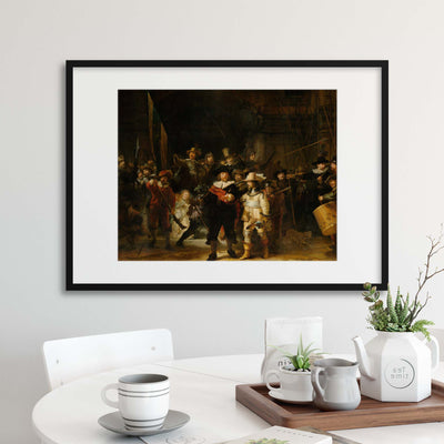 "Rembrandt, ""The Night Watch"" Framed Print - UH"