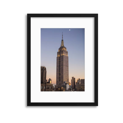 Empire State Framed Print - UH