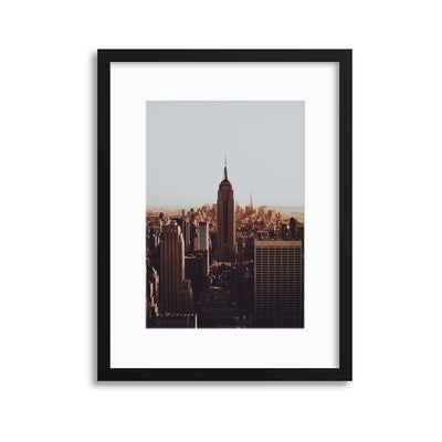 Empire View Framed Print - UH