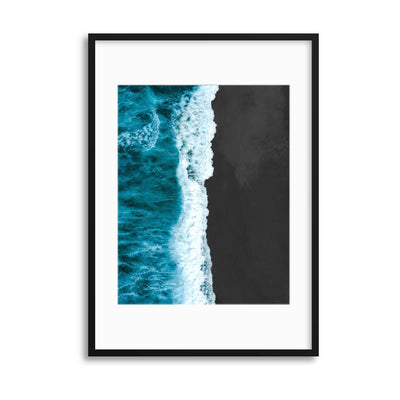 Black Sands Framed Print - UH