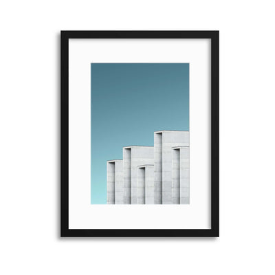 Colours of Architecture Collection No. 7 Framed Print - USTAD HOME