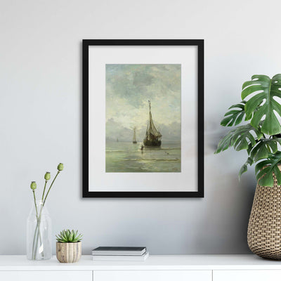 Boats, Rijksmuseum Collection Framed Print - UH