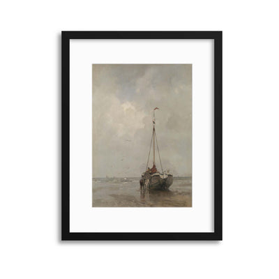 Boat Painting, Rijksmuseum Collection Framed Print - USTAD HOME