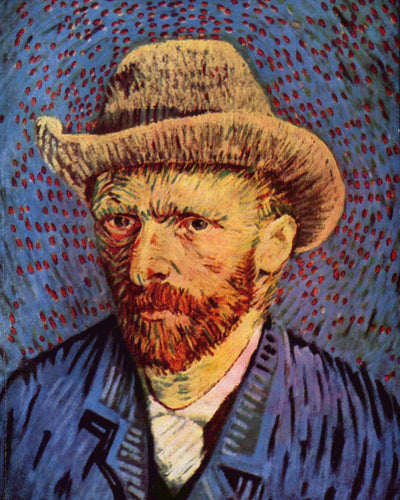 "Van Gogh ""Self-Portrait"" Framed Print - USTAD HOME"