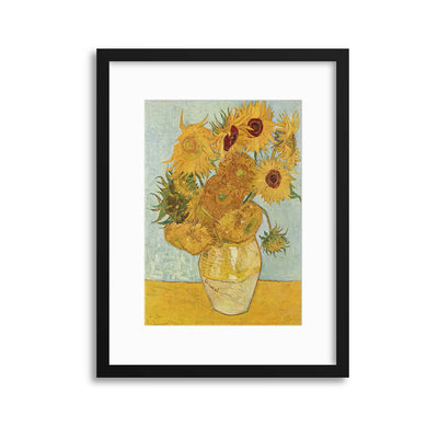 "Van Gogh ""Sunflowers"" Framed Print - UH"