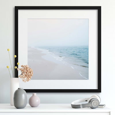 Tranquil Sea Pastels Framed Print - UH