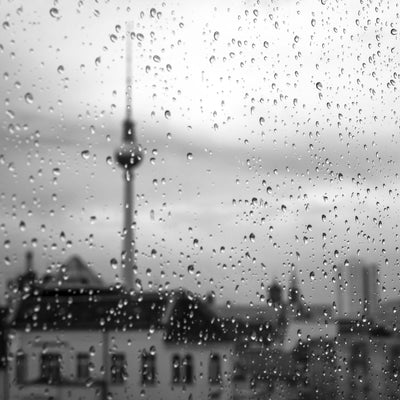 Berlin Drizzle Framed Print - UH