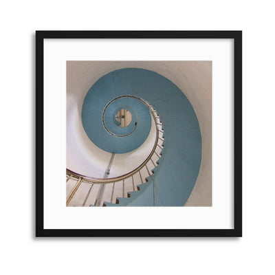 The Lighthouse Keeper's Commute Framed Print - UH